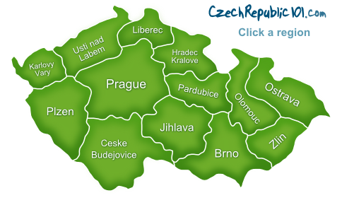 Czech Republic-map