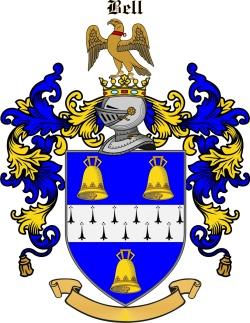 BELL family crest