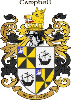 Cambell family crest