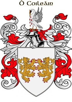 Collis family crest