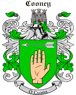 COONEY family crest