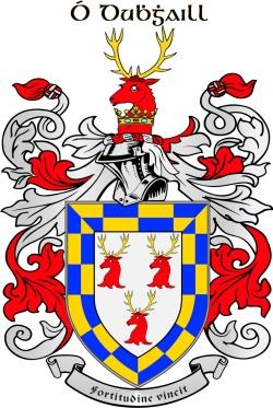 DOYLE family crest