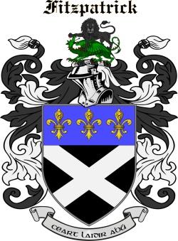 Fitzpatrick family crest