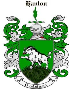 HANLON family crest