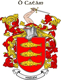 CAIN family crest