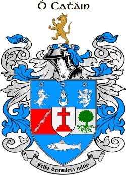 KEENE family crest