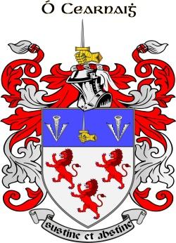 KERNEY family crest