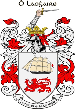 O'LEARY family crest