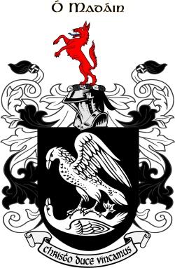 MADDIN family crest
