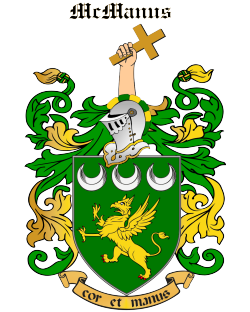 MCMANUS family crest