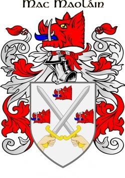 MULLEN family crest