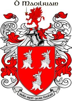 MULRYAN family crest