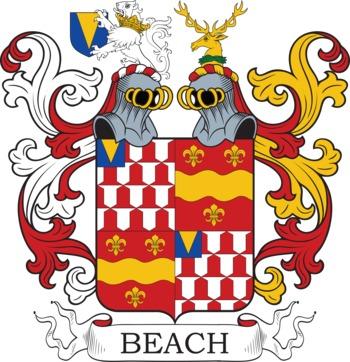 BEACH family crest