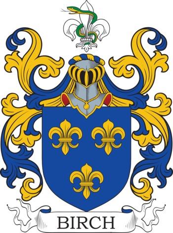 Birch family crest