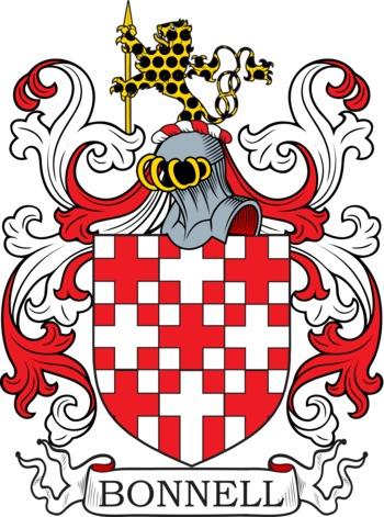 BONNELL family crest