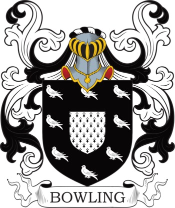 BOWLING family crest