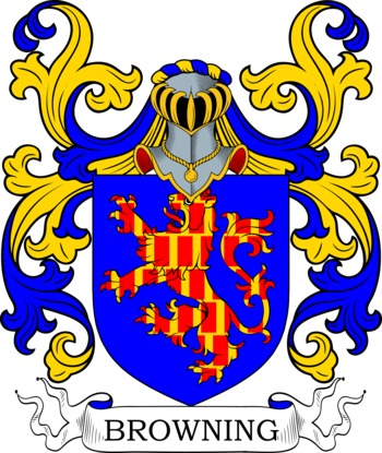 Browning family crest