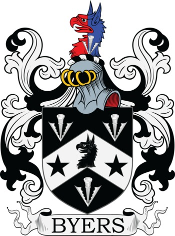 BYERS family crest