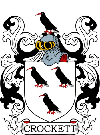 CROCKETT family crest