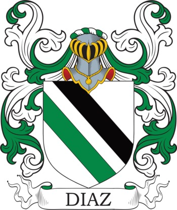 Diaz family crest