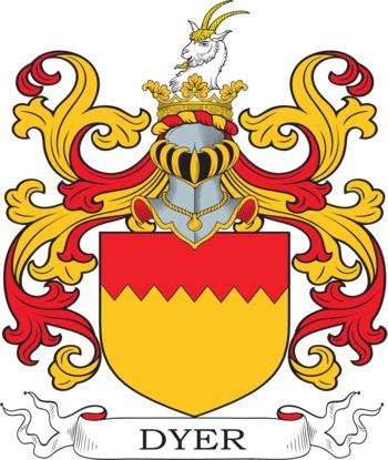 DYER family crest