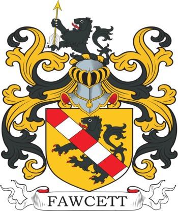 FAWCETT family crest