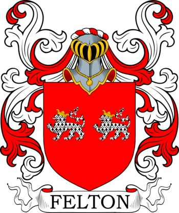 FELTON family crest