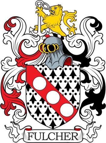 FULCHER family crest