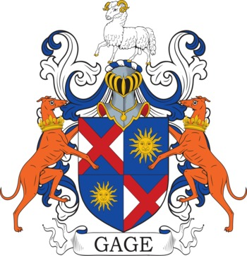 GAGE family crest