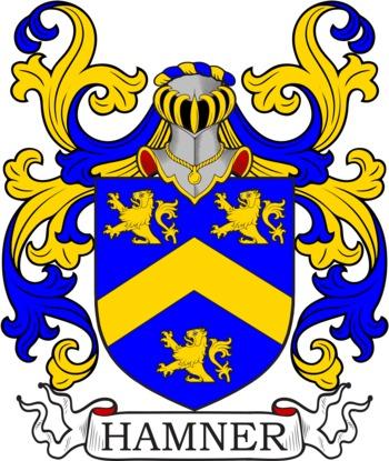 HAMNER family crest