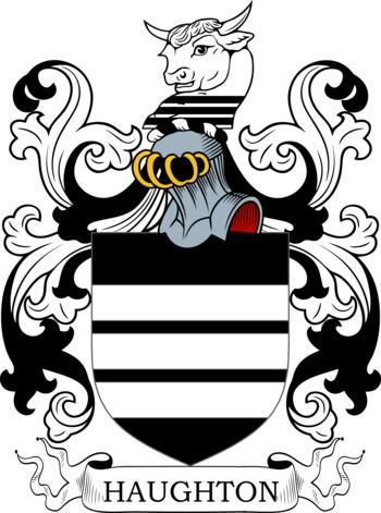 HAUGHTON family crest