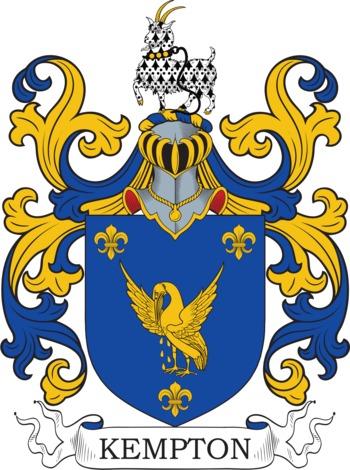 KEMPTON family crest
