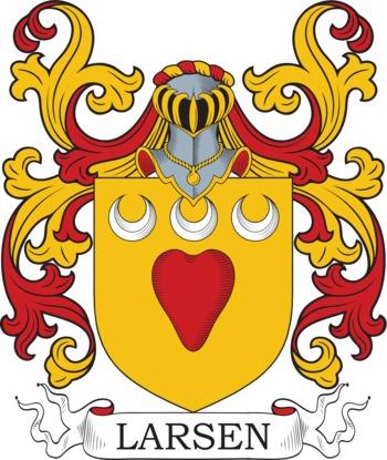 LARSEN family crest