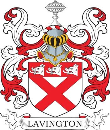 LAVINGTON family crest