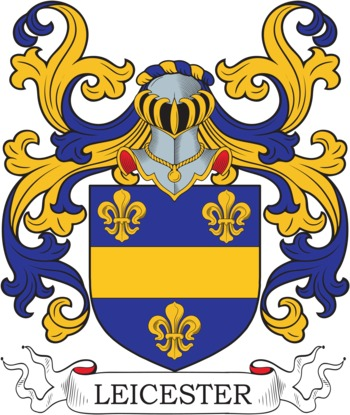 LEICESTER family crest