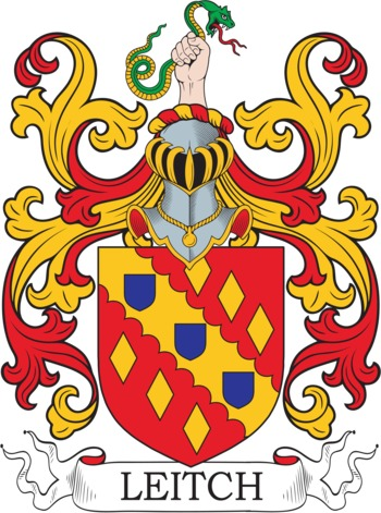 LEITCH family crest