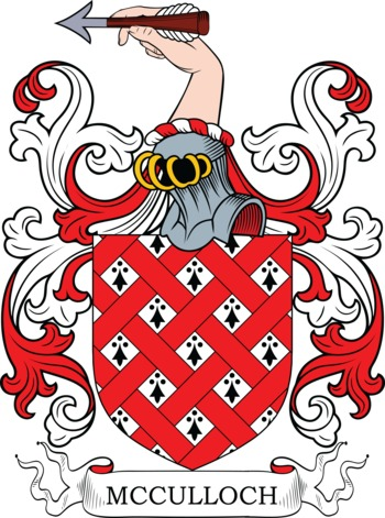 MCCULLOCH family crest