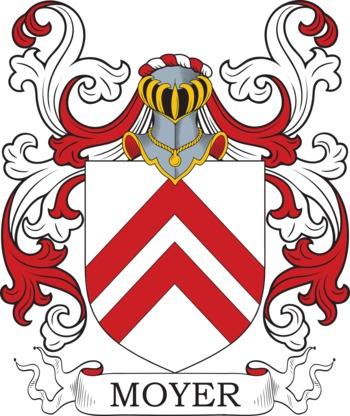 Moyer family crest