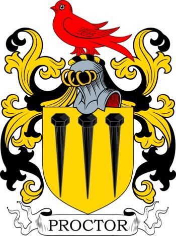 PROCTOR family crest