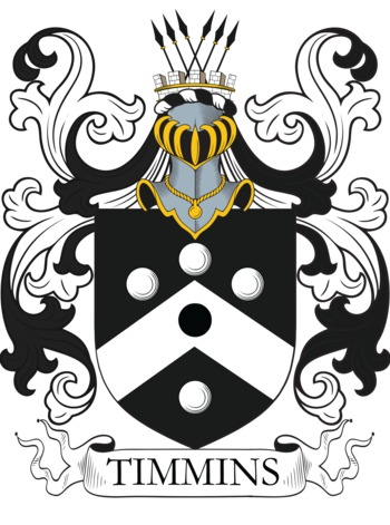 TIMMINS family crest
