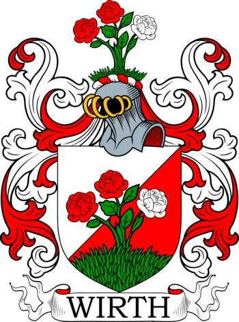 Wirth family crest