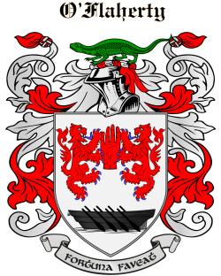 O'FLAHERTY family crest