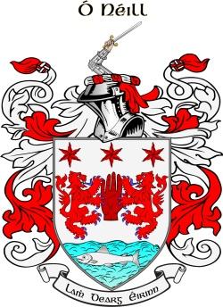 O'Neil family crest