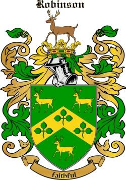 Robison family crest