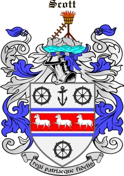 Scoot family crest