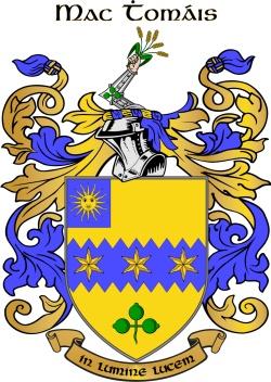 THOMPSON family crest