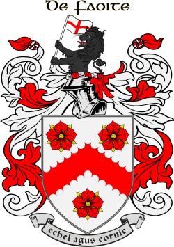 WHYTE family crest